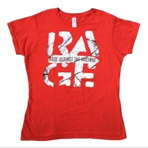 EUC Rage Against The Machine red T-shirt